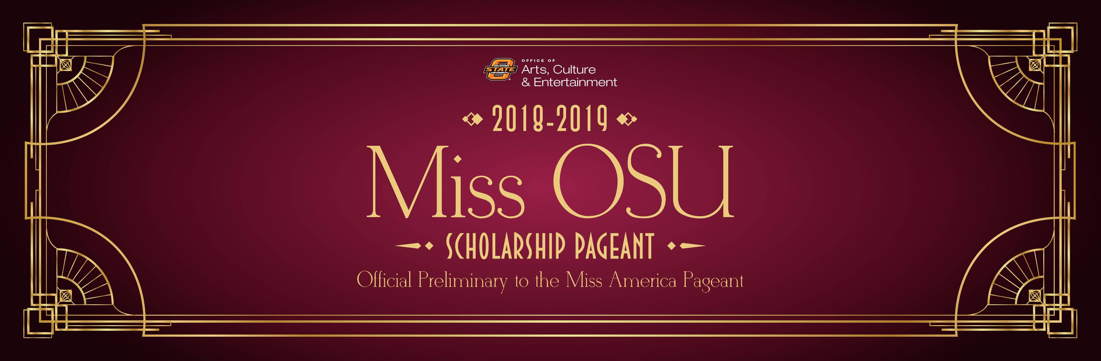 Miss OSU Pageant