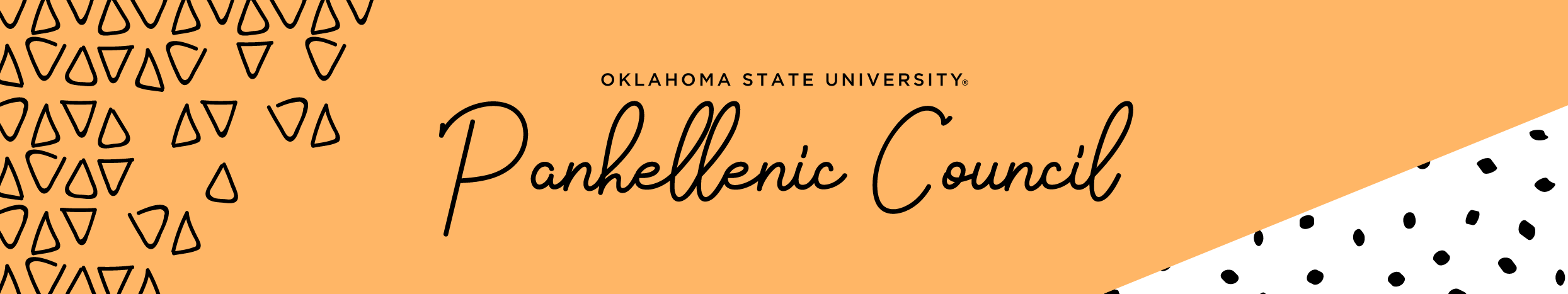 Panhellenic Recruitment Banner - State Greek