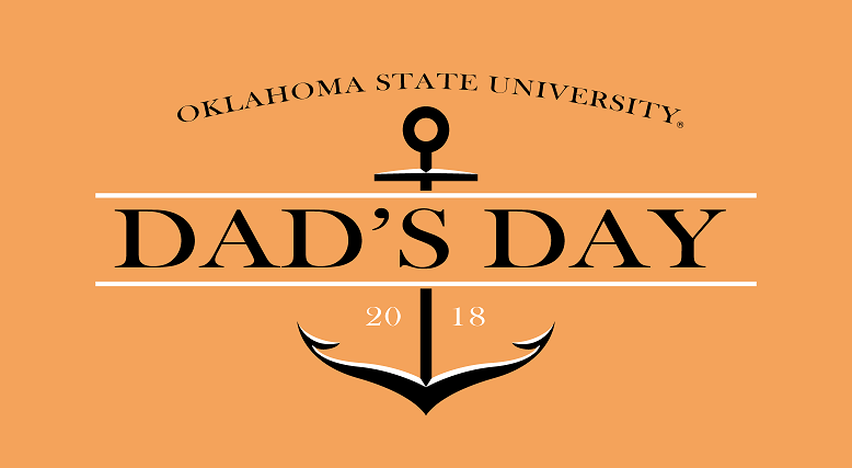 dads day logo with anchor