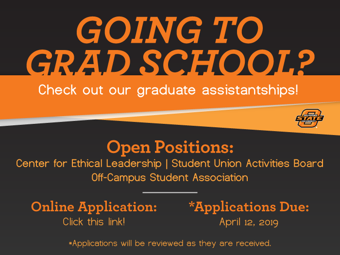 Going to grad school? Apply for LCL assistantships!