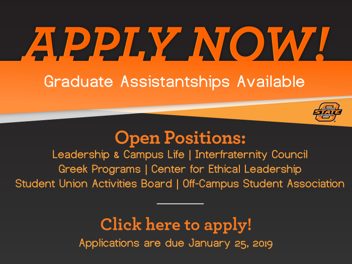 Apply for Leadership & Campus Life GTA positions here.