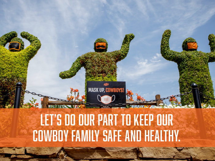 Let's keep our Cowboy Family safe and healthy